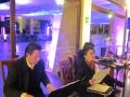 Musicalizacion en vivo de la cena de matrimonio
